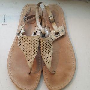 Tan ugg sandals